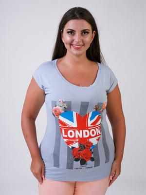 Блуза світло-сіра | 5474571