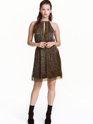Платье золотистое | 5476968