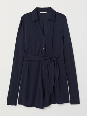 Блуза для беременных темно-синяя | 5477025