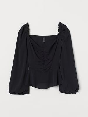 Блуза черная | 5477407