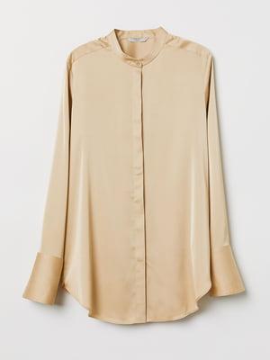 Блуза бежевая | 5477555