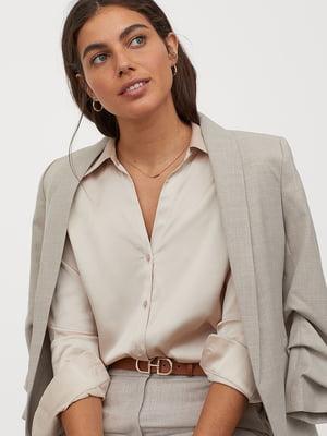 Блуза бежевая | 5477556