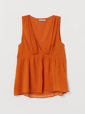 Блуза терракотовая | 5477656