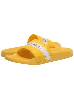 Шлепанцы желтые | 5477879