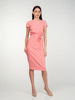 Сукня рожево-коралового кольору | 5473380