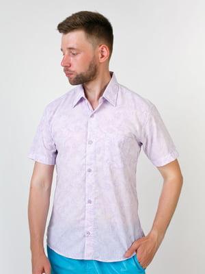 Рубашка сиреневого цвета | 5474679