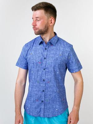 Рубашка цвета джинс | 5474629