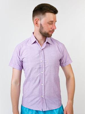 Рубашка сиреневого цвета | 5474735