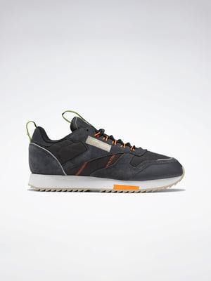 Кросівки сіро-чорні | 5463704