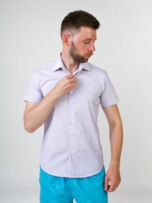 Рубашка сиреневого цвета | 5474618