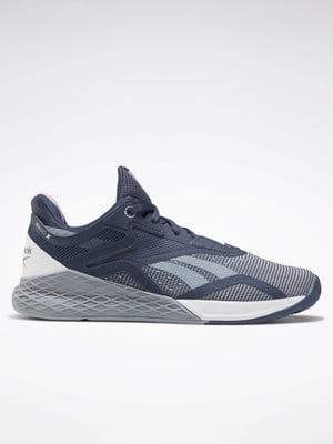 Кросівки синьо-сизого кольору | 5478251