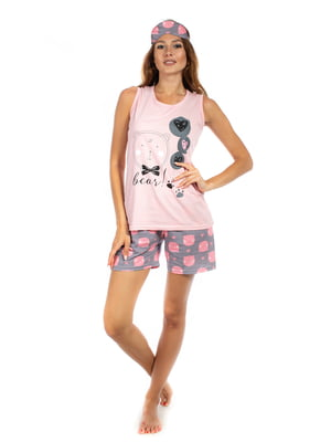 Пижама: майка и шорты | 5478579