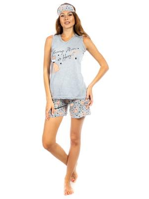 Пижама: майка и шорты | 5478581