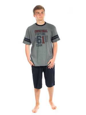 Пижама: футболка и шорты | 5478589