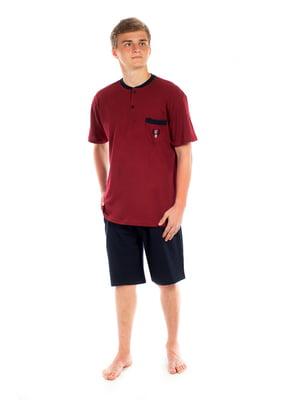 Пижама: футболка и шорты | 5478590