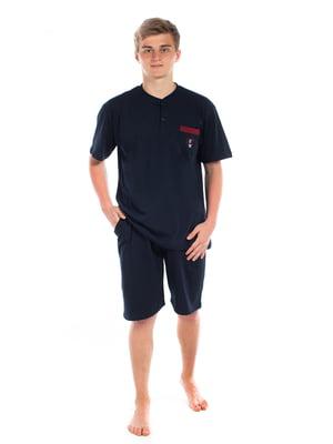 Пижама: футболка и шорты | 5478591