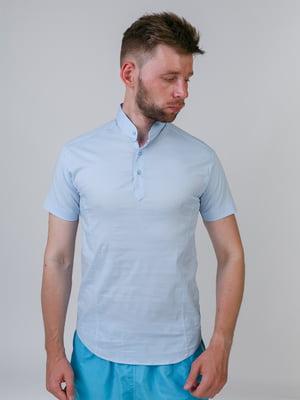 Рубашка голубая | 5464657
