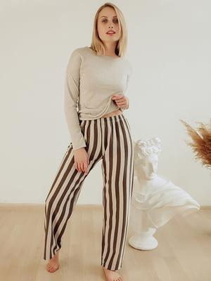 Пижама: лонгслив и брюки | 5478885