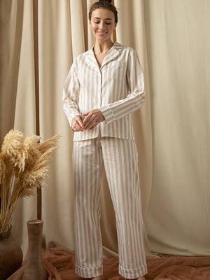 Пижама: рубашка и брюки | 5478923