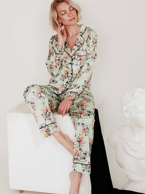 Пижама: рубашка и брюки | 5478927