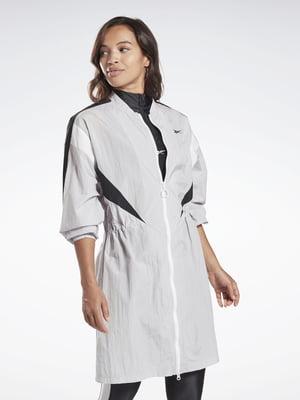 Куртка біло-чорна | 5463736