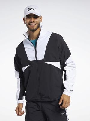Куртка черно-белая   5463858
