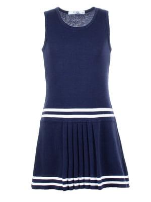 Сукня синя з смужками   5447432