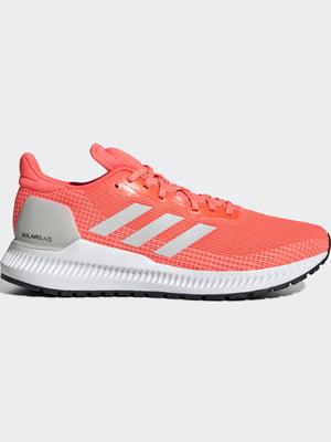 Кроссовки кораллового цвета | 5463221