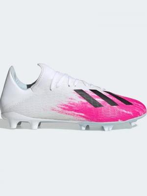 Бутси біло-рожеві   5463294