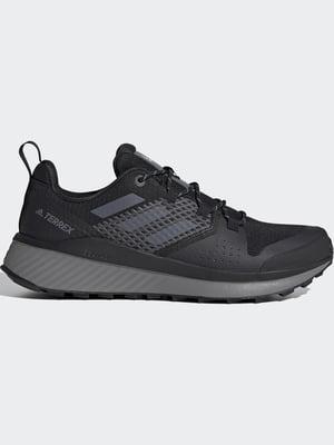 Кросівки сіро-чорні | 5463236