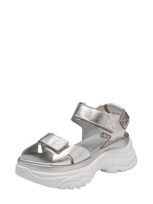 Сандалі сріблясті - Broni - 5479937