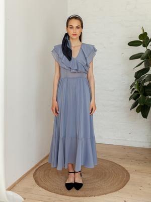 Сукня сизого кольору | 5482999
