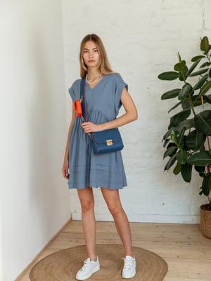 Сукня сизого кольору | 5483003