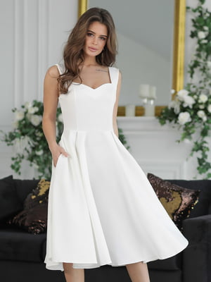 Платье белое | 5464358