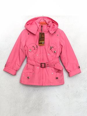 Куртка рожева | 5483439