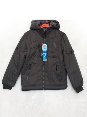 Куртка сіра | 5483440