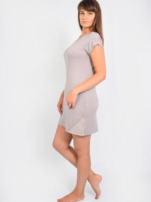 Платье домашнее молочного цвета | 5483817