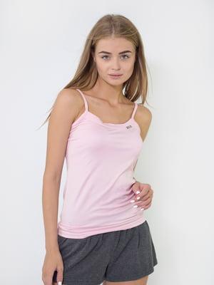 Майка розового цвета   5483856
