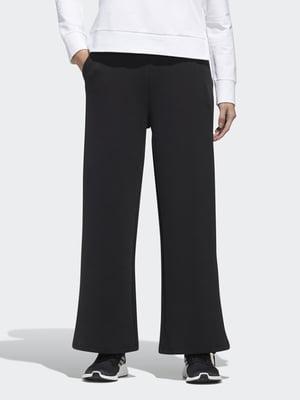 Штани чорні з логотипом | 5483787
