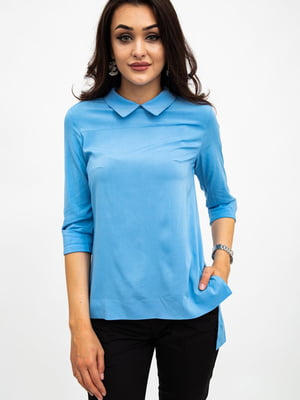 Блуза голубая | 5484271