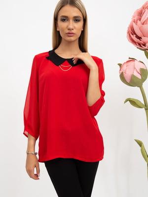 Блуза красного цвета | 5484297