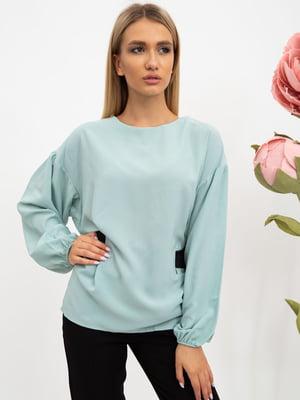 Блуза цвета мяты   5484301