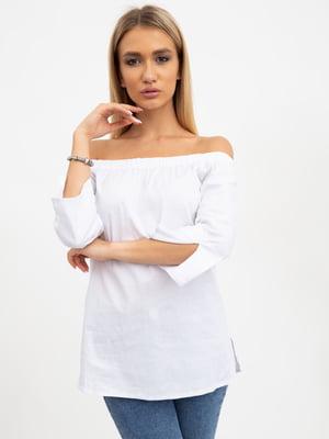 Блуза белая | 5484306