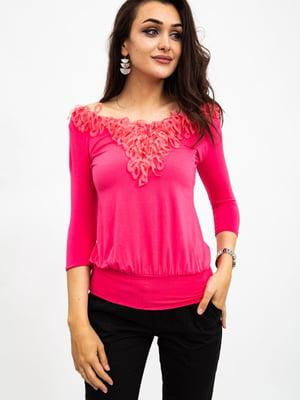 Блуза розовая | 5484325