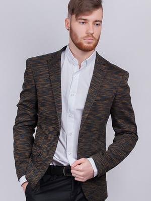 Пиджак серо-горчичного цвета | 5484455