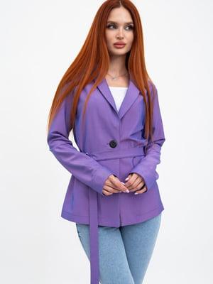 Жакет фиолетовый | 5484459