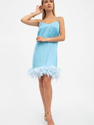 Сукня блакитна | 5484470