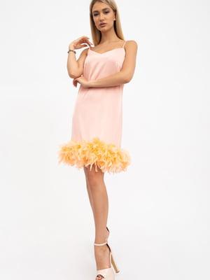 Сукня кольору пудри | 5484471