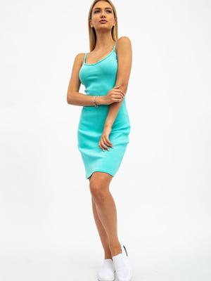 Сукня кольору м'яти | 5484480