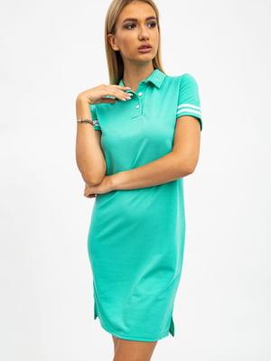Платье цвета мяты | 5484493